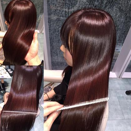 カラー セミロング ロング ツヤ髪❤︎