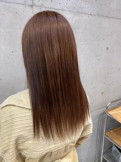 🦩似合わせカット+艶カラー+トリートメント🦩