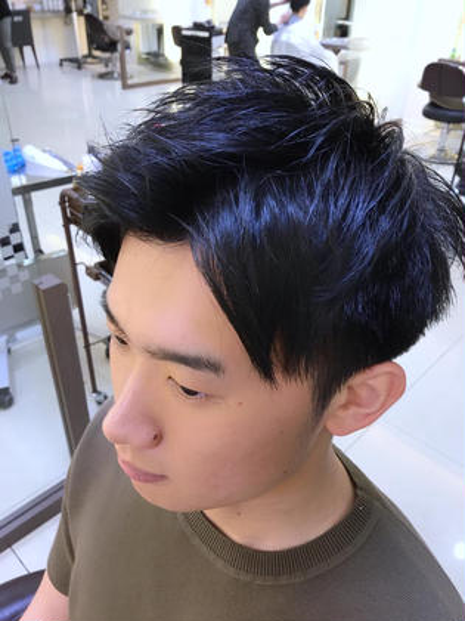 メンズカット✂︎ 髪の量と癖が気になる方も お任せ下さい✨ FACE。磯子所属・平瀬颯太郎のスタイル