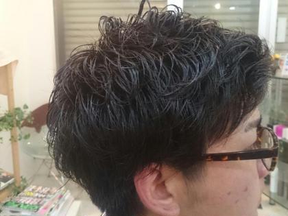 緩めのパーマです。 少しパーマに興味ある方などにおすすめですΣ( ̄。 ̄ノ)ノ SEED hair make所属・似合わせNo,1榎本翔太🦉のスタイル