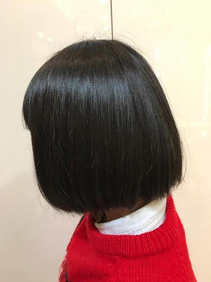 ☺︎就活に向けて茶色の髪の毛をしっかりと黒染めに… AtoZ所属・根本歩美のスタイル
