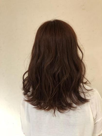 小島嵩人のロングのヘアスタイル
