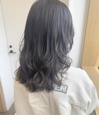 【🧡大人気💜カット+ブリーチ+フルカラー+トリートメント】(ロング料金あり)