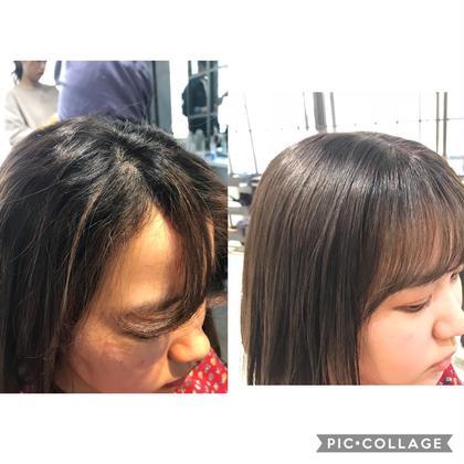 部分縮毛矯正🌈🔶《前髪+顔まわりストレート》➕《カット》➕《最高級TOKIOトリートメント》🔶
