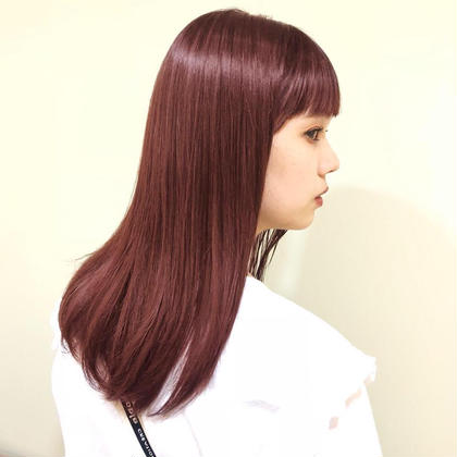 💚minimo限定🌈((憧れの艶髪に☆カラー+超音波tokioトリートメント))
