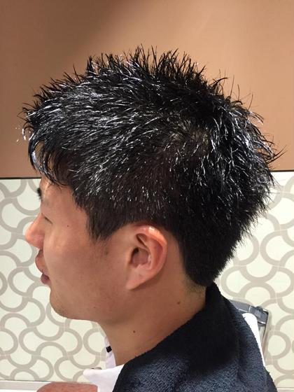 ツーブロック アップバング 束感社会人スタイル  hairresort  Ai所属・豊里美希のスタイル