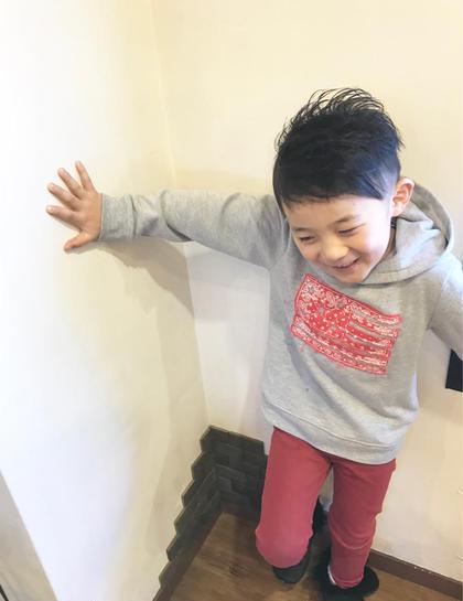 スタイリング剤をつけなくてもキマるスタイル☆ TSUKASA歴13年のキッズヘアスタイル・髪型