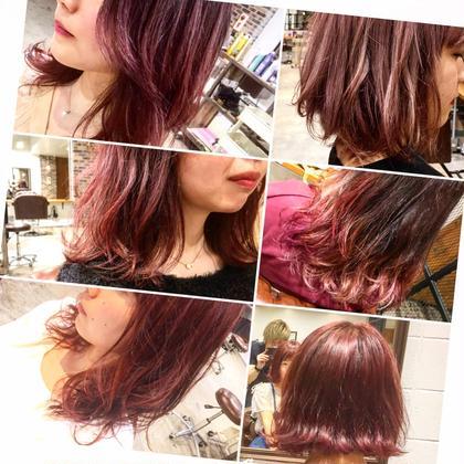 カラー ロング 春に向けて暖色カラーにする方が増えてます‼️  まだ髪を春支度していない方は是非お任せ下さい‼️