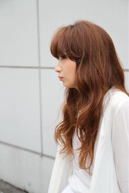 ラフに可愛く♡ ROUNGE hair所属・千葉彩乃のスタイル