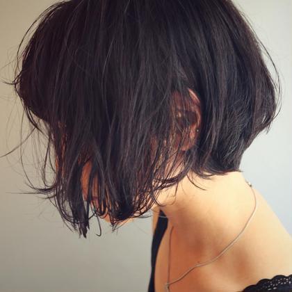 小松美鈴のショートのヘアスタイル