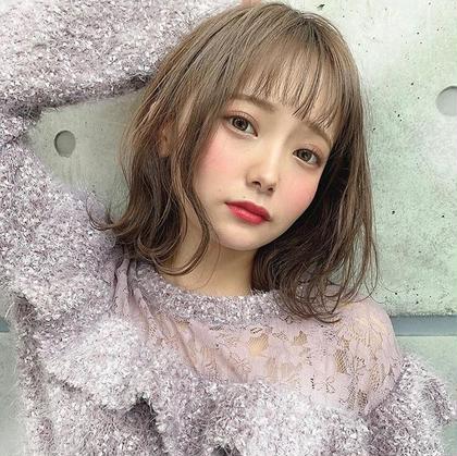 ❣️今だけ❣️❤️特別特化❤️💜前髪カット&ダブルカラー(ブリーチ&カラー)💜