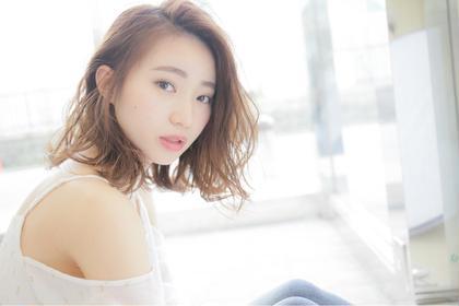 【毎朝簡単スタイル】柔らかいクリープパーマ+似合わせCut¥9720