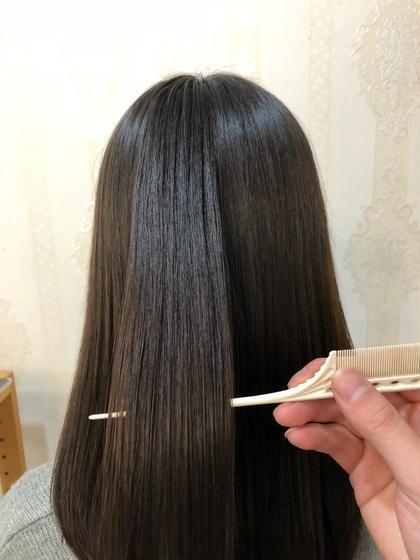 🌈ミニモ限定🌟『東京で一番傷まない❗️』 似合わせカット+髪質改善縮毛矯正 ¥17450→¥12900