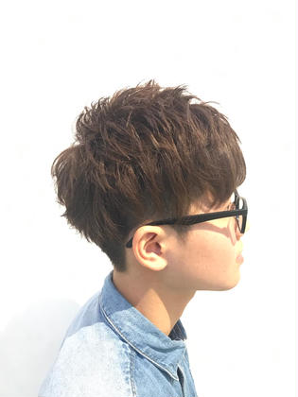 清宮一汰のメンズヘアスタイル・髪型