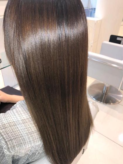 🌟カット+100色から選べる全体カラー+髪質改善🌟〜鮮やかかつツヤ髪に導く〜