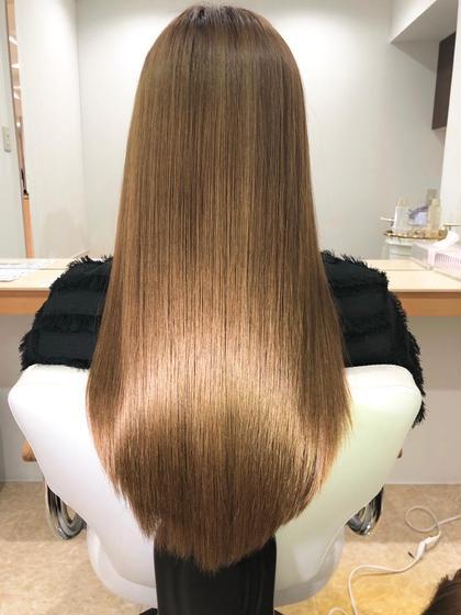 ❤️髪質改善美髪エステ&透明感カラー❤️