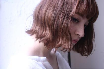 前髪cut + color + 潤艶 treatment