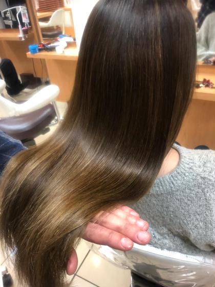 1〜3回目まで使える ⭕️ ブリーチ毛にも❗️【髪質改善】カット&濃密ヘアエステトリートメント☘️