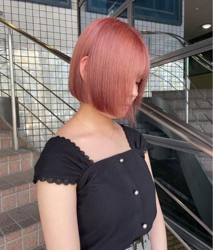 🥤ダブルカラー(ケアブリーチ+カラー)🥤