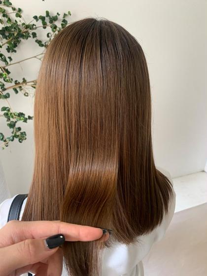 カット+髪質改善トリートメント🦢
