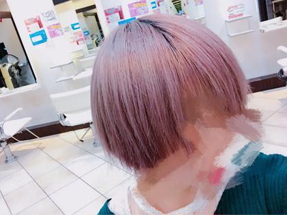 ダブルカラーです! プロデュース 淵野辺店所属・👑カラーNo. 1稲積勝法👑のスタイル