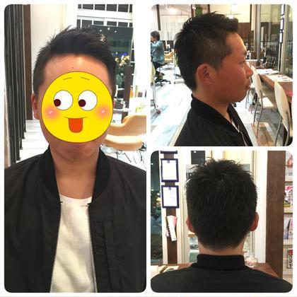 メンズ→刈り上げ 前髪立ち上げさわやかスタイル☺︎ Agu hairsweet所属・W.ayumiのスタイル