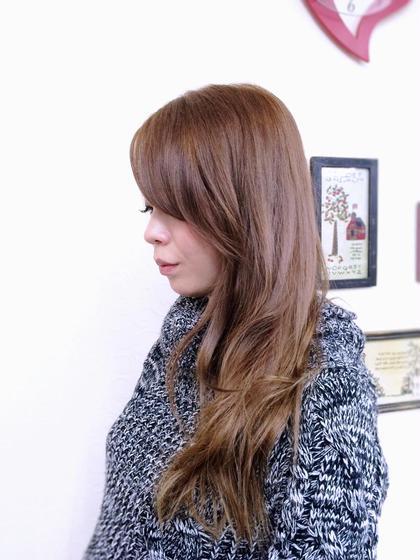 秋冬スモーキーベージュカラー Cool所属・Nhiroのスタイル