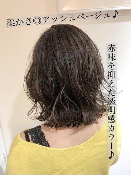 ❤️人気No.1 最高級ツヤStyle❤️イルミナカラー&似合わせカット&最高級髪質改善TOKIOトリートメント