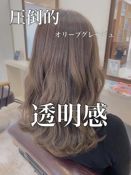 👑【⠀外国人風✩透明感⠀】イルミナカラーorN.カラー&ハホニコTr