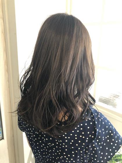 ブリーチなしのベージュカラー⭐️  赤みを消して髪を柔らかく見せてくれます😊