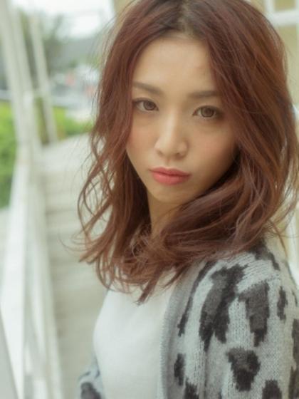 【人気NO3】カット+艶カラー+オーガニックトリートメント¥11980