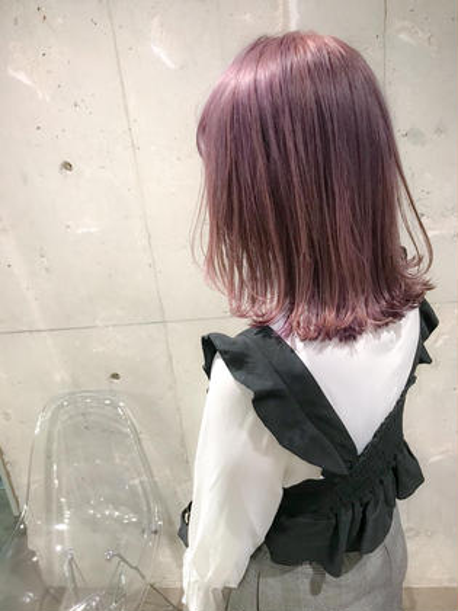 カラー ミディアム ハイトーンピンク★