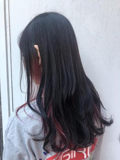 <カラーモデル>ハイライト・ローライト・インナー💛平日11:00-20:00❌すぐ予約不可!お問い合わせ下さいませ!