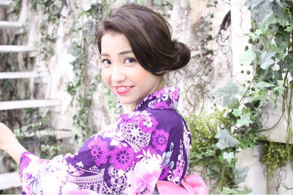 ✨EYE STUDIO✨  #夏 #浴衣 #撮影 Focus  JAPAN所属・土坂由志のスタイル