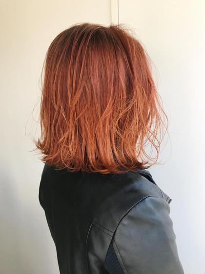 杉本佳奈のヘアカラーカタログ