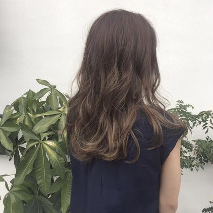 外国人風カラー bisou  hair所属・屋比久真里奈のスタイル