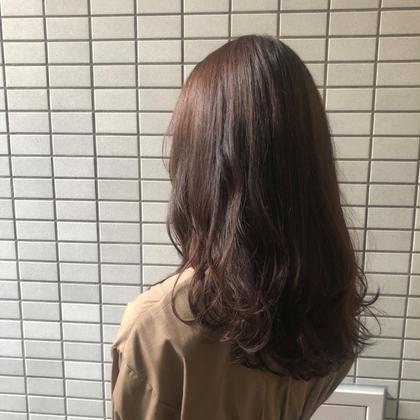 【 minimo限定💓】❣️カット+カラー+シルクトリートメント❣️(2回目のご来店+¥1000✨)