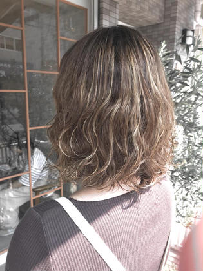 【🌴#夏オススメ🌴】 20%OFF💫TOPスタイリストカット+透明感ツヤカラー+低温ゆるふわパーマ❣️
