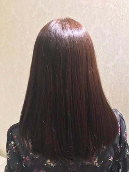 カット & つやサラ☆縮毛矯正 & クイックトリートメント