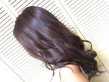 トーンダウンも透け感のあるカラーが おすすめです\( ˆoˆ )/ GLITZ所属・春田愛海のスタイル