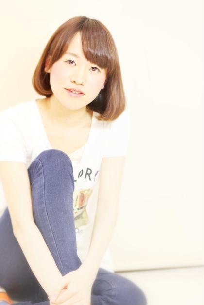 王道ワンカールボブ  朝のスタイリングが簡単に。。   まわりの人から綺麗な髪だねって言われますよ(*^◯^*)    FORTE エピ店所属・恒吉(つねよし)ゆうすけのスタイル