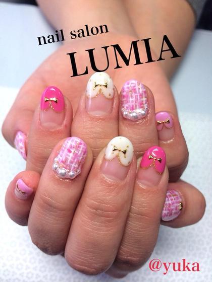 ピンク、ベージュは豊富に取り揃えております(^^) mona nail所属・monanailのフォト