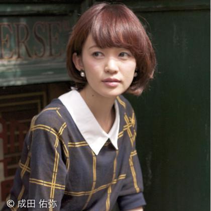 ショートボブ THEATER所属・成田佑弥のスタイル