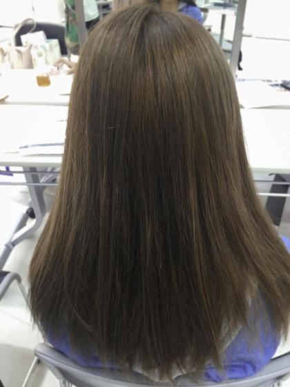 シナモンベージュ!寒色のハイトーンカラー! Blanc hair所属・浅田大輝のスタイル