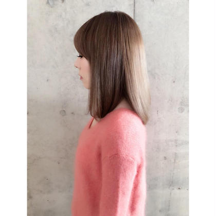 ❤️✨人気NO.1✨❤️外国人風カラー×キューティクル補正トリートメント✳今月のみ前髪カット無料✳