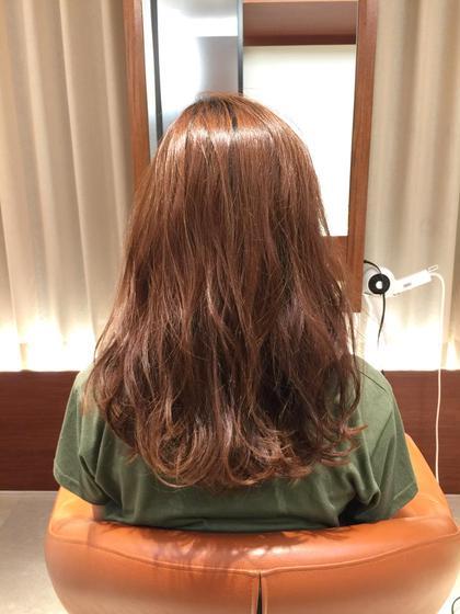 カールアイロンで最後巻きました hair do所属・小木曽捺季のスタイル