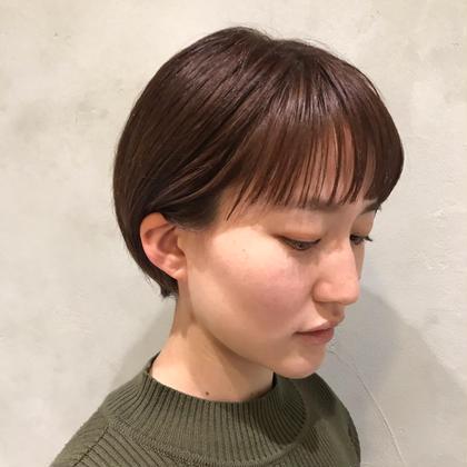 【白髪が気になる方おすすめ】カット+オシャレグレイカラー+髪質改善トリートメント