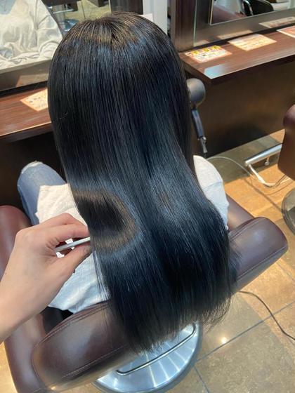 ♥︎痛みやくせの広がりに♥💐カット&カラー&髪質改善グラストリートメント💐