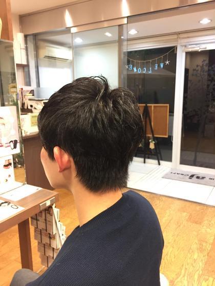 【メンズ限定】カット&アロマシャンプー