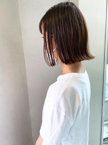 大好評🌈似合わせカット+Aujuaシャンプー&tr (初めての方)
